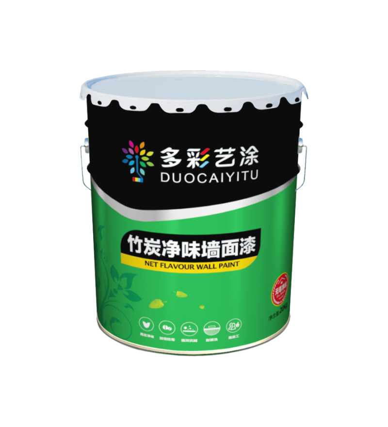 竹炭净味墙面漆